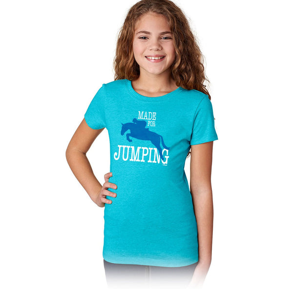 Made For Jumping Girls Short Sleeve Tee 20163