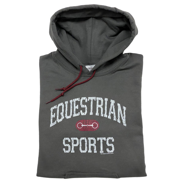 20502 - Equestrian Sports With Bit Hoodie