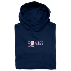 20538 - Ponies Embroidered Youth Hoodie