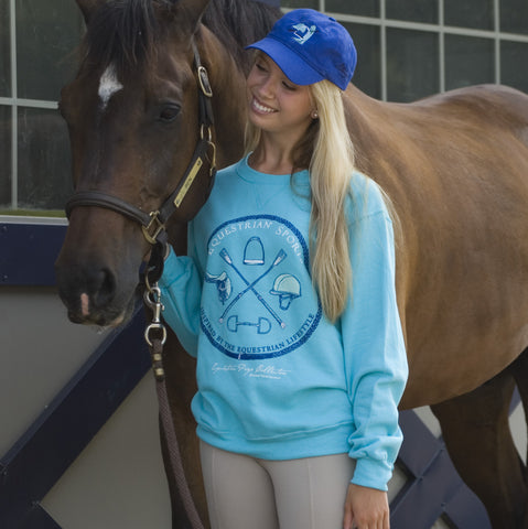 Equestrian Sports Adult Crewneck Sweatshirt