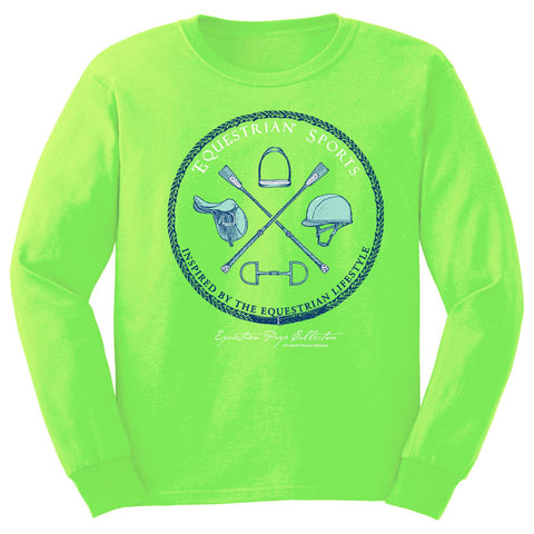 Equestrian Sports Youth Long Sleeve Tee