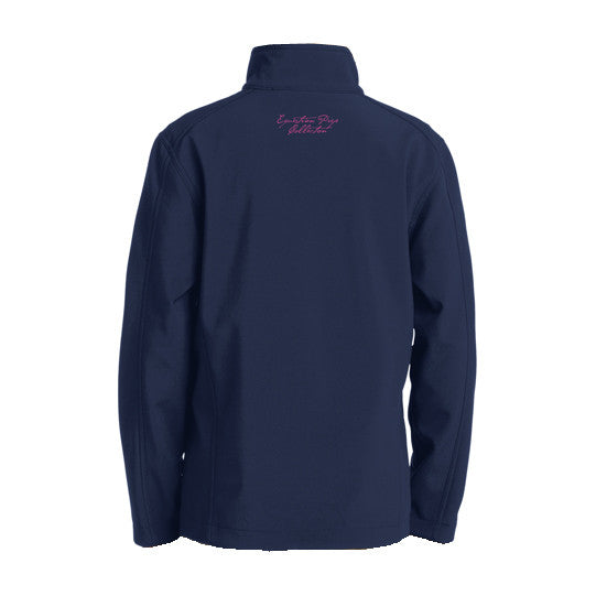 Youth Performance Soft Shell Jacket - Navy