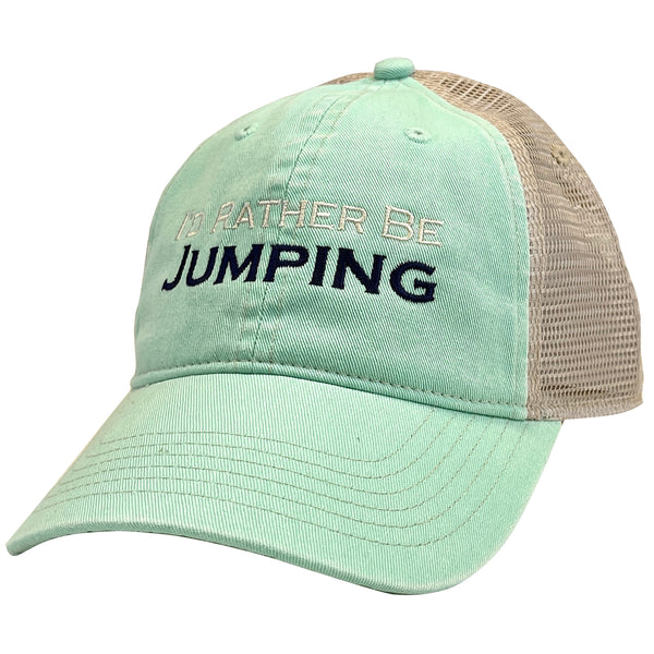 I'd Rather Be Jumping Trucker Cap - EP-844