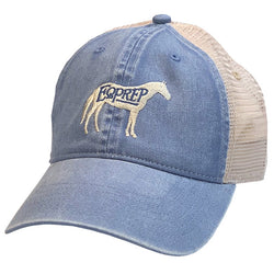 EqPrep Trucker Denim Cap