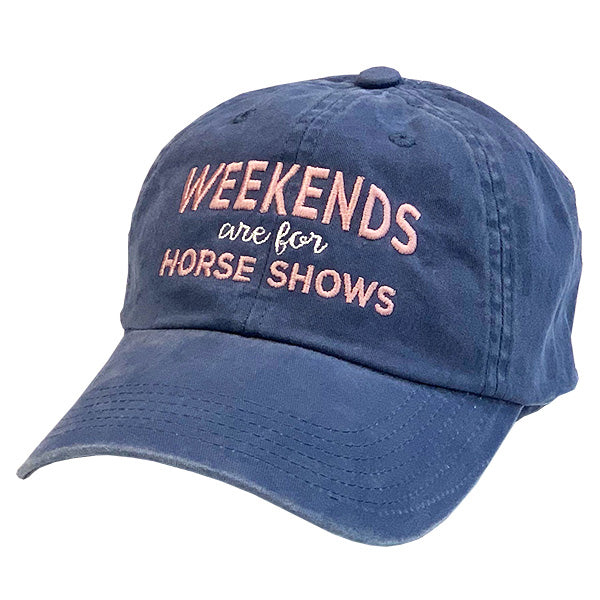 Weekends Are For Horse Shows Cap