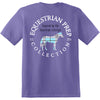 Preppy Plaid Horse Short Sleeve EP-135