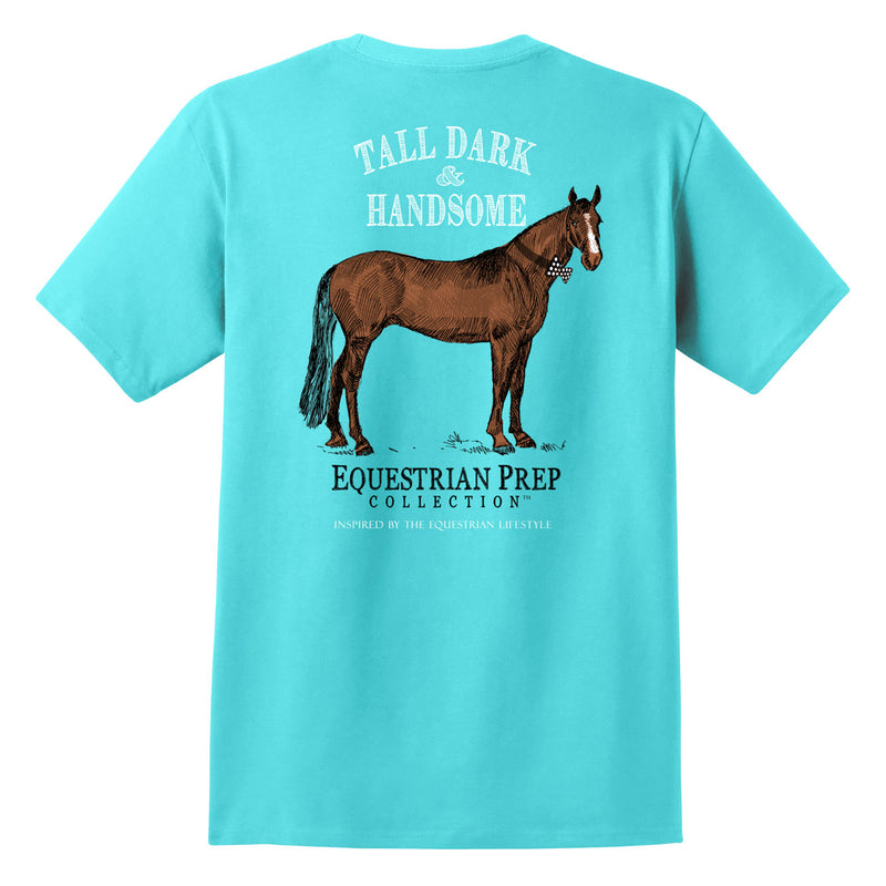 Tall Dark and Handsome - Adult Short Sleeve Tee EP-151