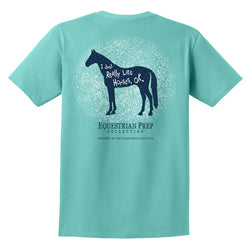 I Just Really Like Horses - Adult Short Sleeve Tee EP-161
