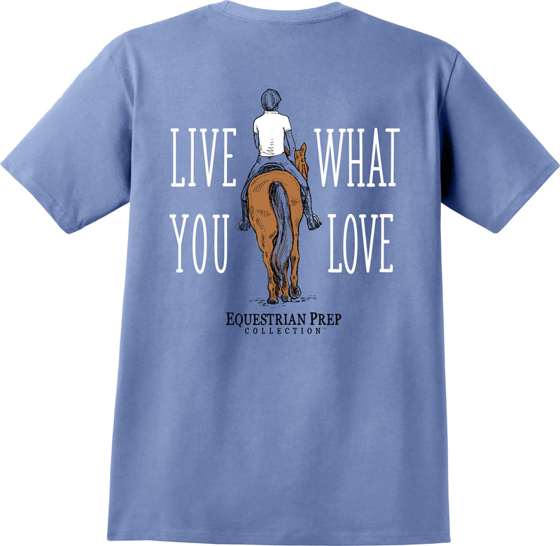Live What You Love - Adult Short Sleeve Tee EP-164
