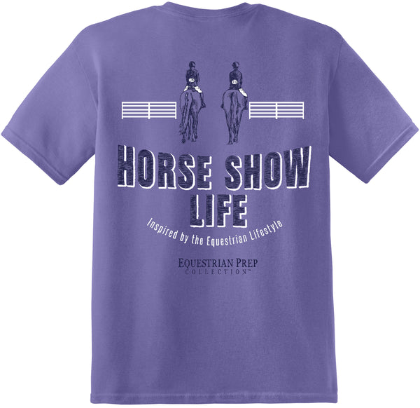 Horse Show Life - Adult Short Sleeve Tee EP-169