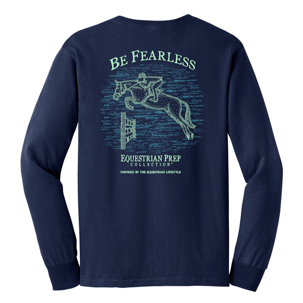 Be Fearless - Adult Comfort Colors Long Sleeve Tee EP-181