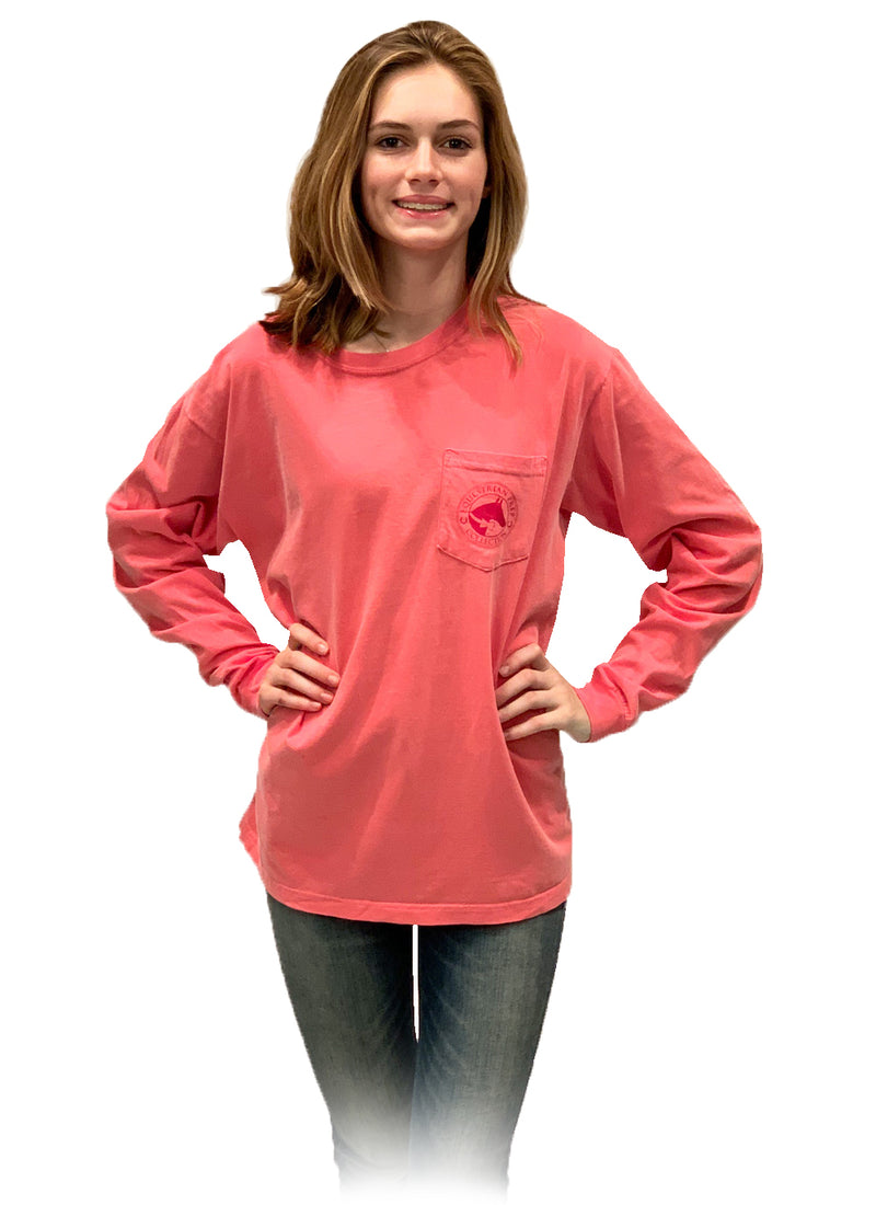 Blessed With A Great Horse - Adult Comfort Colors Long Sleeve Tee EP-182