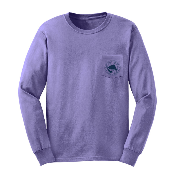 I Just Really Like Horses - Adult Comfort Colors Long Sleeve Tee EP-189