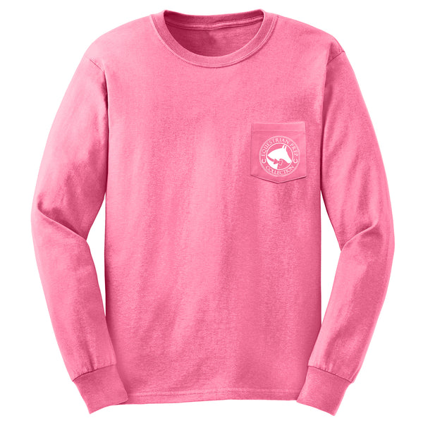 Equestrian Sports - English - Adult Comfort Colors Long Sleeve Tee EP-191