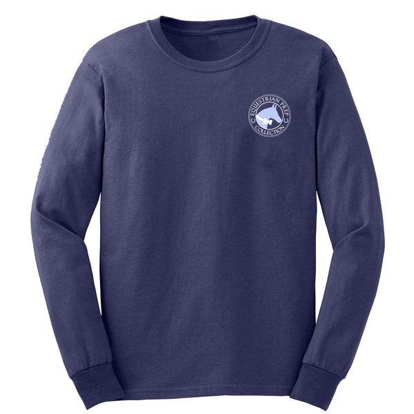 Preppy Jumping Horse - Youth Long Sleeve - EP-303