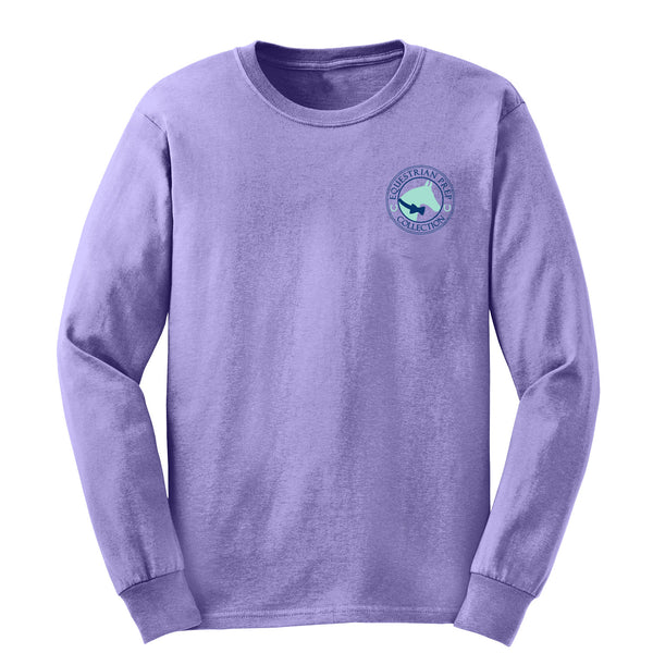Equestrian Sports - Violet - Youth Long Sleeve - EP-304