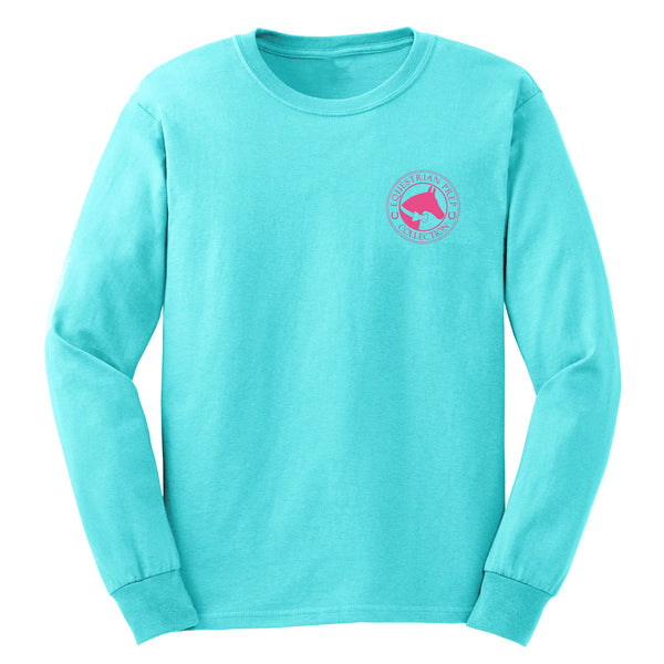 Weekends Are For Horse Shows - Youth Comfort Colors Long Sleeve Tee EP-314