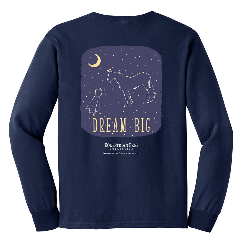 Dream Big - Youth Comfort Colors Long Sleeve Tee EP-317