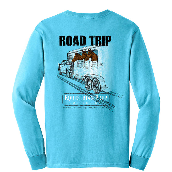Road Trip - Adult Comfort Colors Long Sleeve Tee EP-59