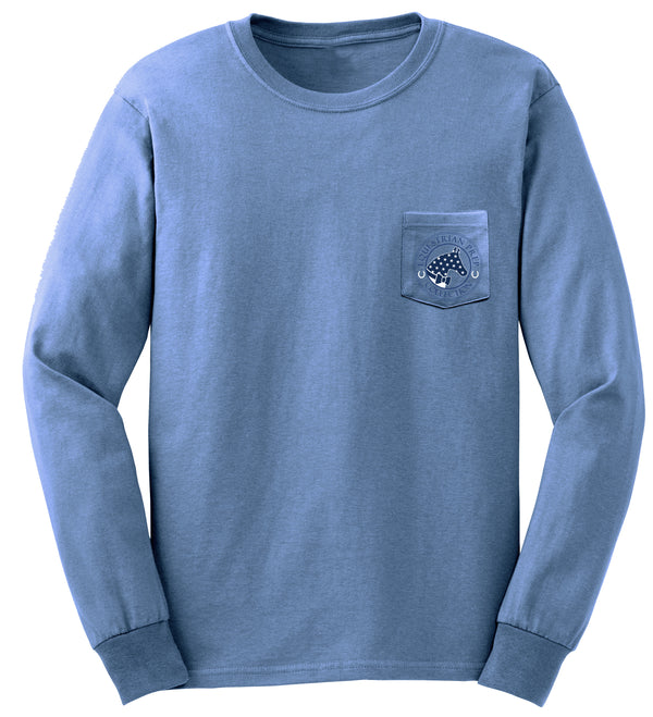 USA EqPrep - Adult Comfort Colors Long Sleeve Tee EP-62