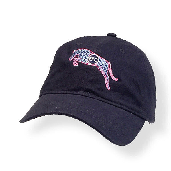 Preppy Jumping Horse Cap EP-820