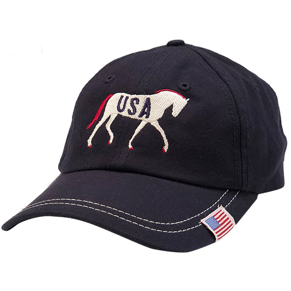 USA Horse Navy Cap
