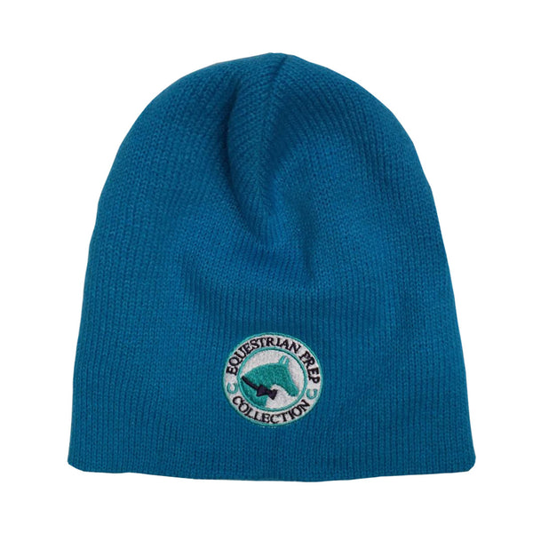 Turquoise Equestrian Prep Collection Beanie EP-904