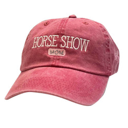 Horse Show Mom Cap HA232