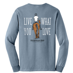 Live What You Love - Adult Comfort Colors Long Sleeve Tee EP-69