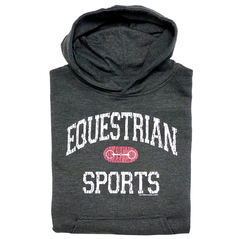 20536 - Equestrian Sports With Bit Youth Hoodie