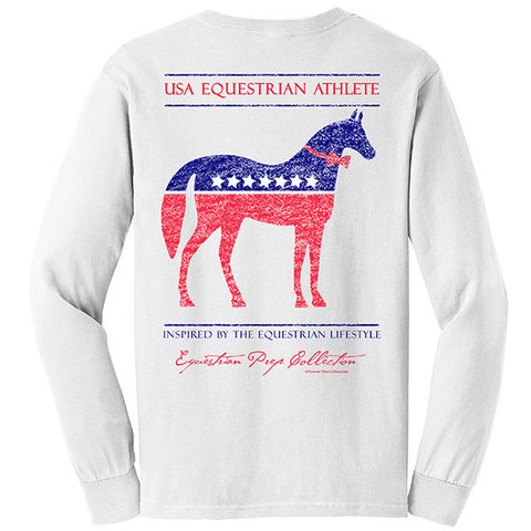 USA Equestrian Athlete Long Sleeve EP-101