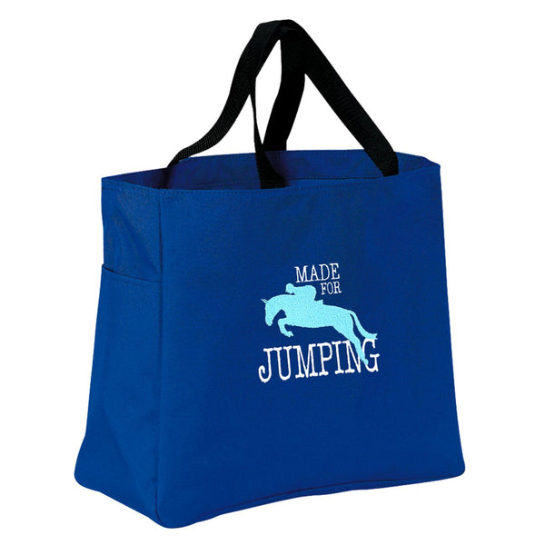 Made for Jumping Embroidered Tote Bag B920