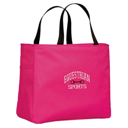 Equestrian Sports with Bit Tote Bag B922