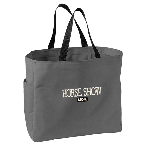 Horse Show Mom Tote Bag B927