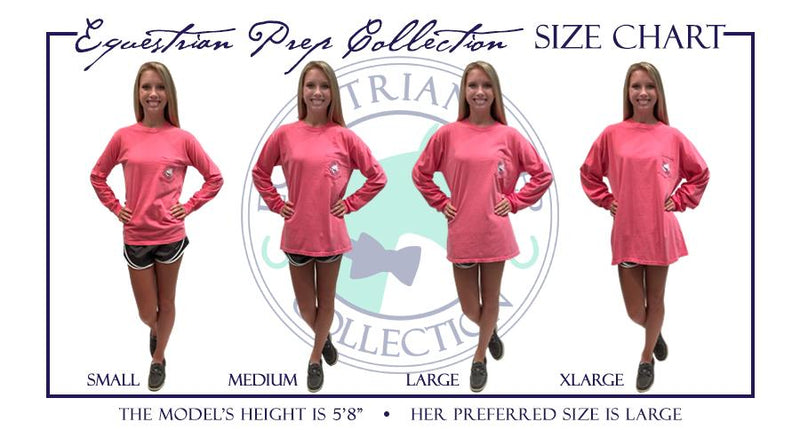 Hot To Trot - Adult Comfort Colors Long Sleeve Tee EP-188