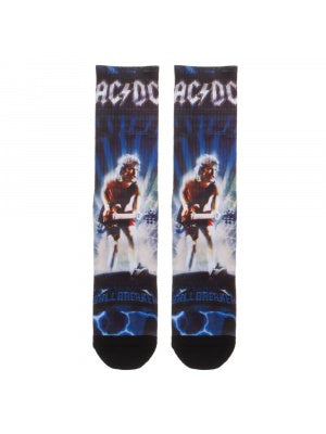 AC DC Ball Breaker Crew Socks