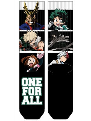 My Hero - One For All Crew Socks