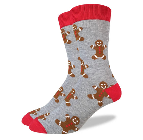 Gingerbread Men Crew Socks