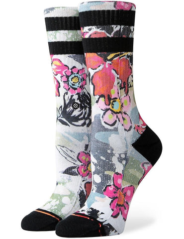Soul Flower Crew Socks