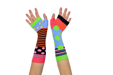 Armwarmers (Dots & Stripes)