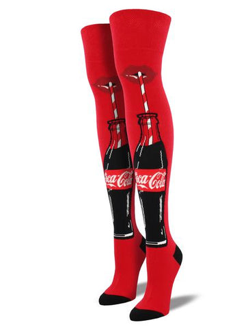 Coca Cola Over the Knee (Red)