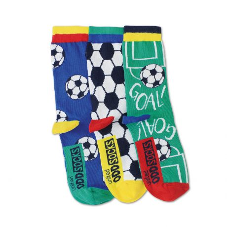 Goal - 3 Boys Single Socks