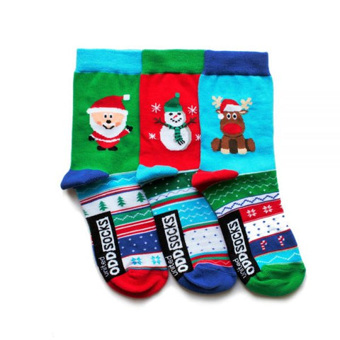 Snow (3 single socks for Kids)