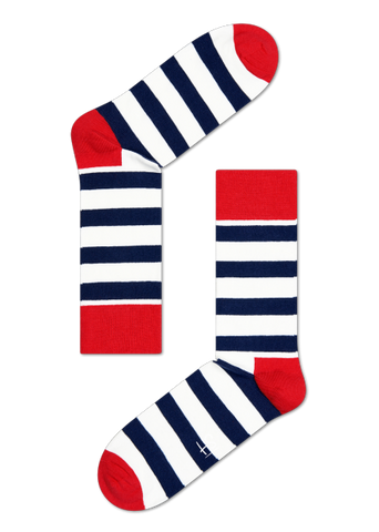 Stripe - Navy/Red/White