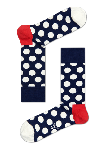 Big Dots - Navy/Red/White