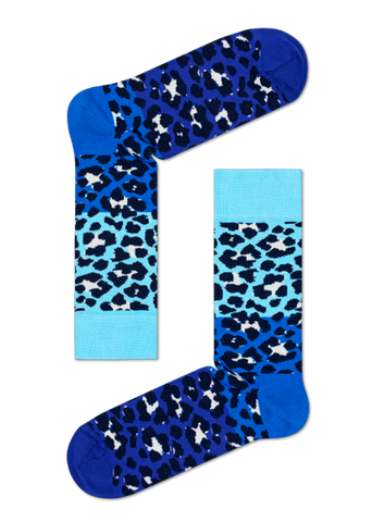 Block Leopard (Blue)
