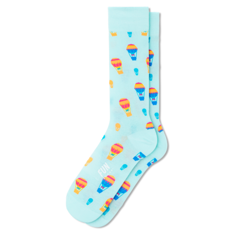 Hot Air Balloon Socks (men's)