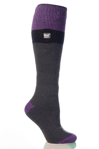Heat Holders Long Thermal Ski Socks - Charcoal