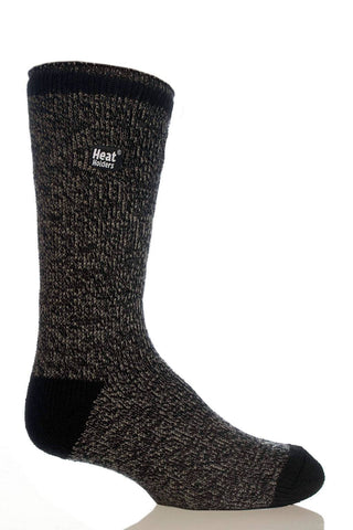 Heat Holders Thermal Crew Sock -Heather Grey