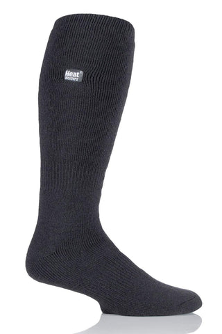 Heat Holders Long Thermal Socks - Grey